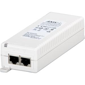 AXIS T8120 PoE injektor - 110 V AC, 220 V AC Input - 48 V DC Output - 1 10/100/1000Base-T Output Port(s) - 15 W
