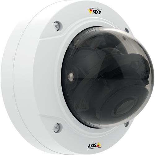 AXIS P3224-LV Netværkskamera - Monokrom, Farve - Motion JPEG, H.264, MPEG-4 - 1280 x 960 - 3 mm - 10,50 mm - 3,5x Optical - RGB CMOS - Kabel - Kuppel - Pendelmontering, Monteringsbeslag, Forsænket montering, Rækværksmontering, Stangmontering, Vægmontering, Hjørnemontering, Loftsmontering