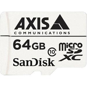 AXIS 64 GB microSDXC - Class 10 - 20 MB/s Læs - 20 MB/s Skriv