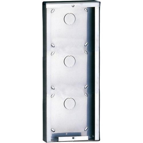 Comelit Mounting Box - Rustfri Stål - Grå - Overflademontering, Vægmontering