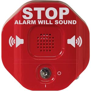 STI Exit Stopper STI-6400 Security Alarm - 9 V - 105 dB - Hørbar, Visuelt - Red