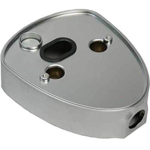 GJD Kabelbeskytter - Silver - Kabelrøradapter - Zinklegering metal