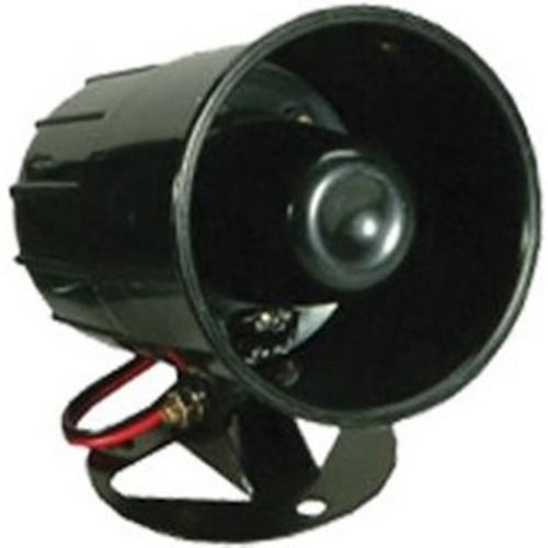CQR Horn - 15 V DC - 118 dB(A) - Hørbar - Black