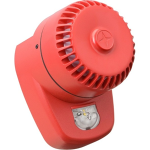 Eaton RoLP LX Security Alarm - 60 V DC - 102 dB(A) - Hørbar, Visuelt - Red, Red