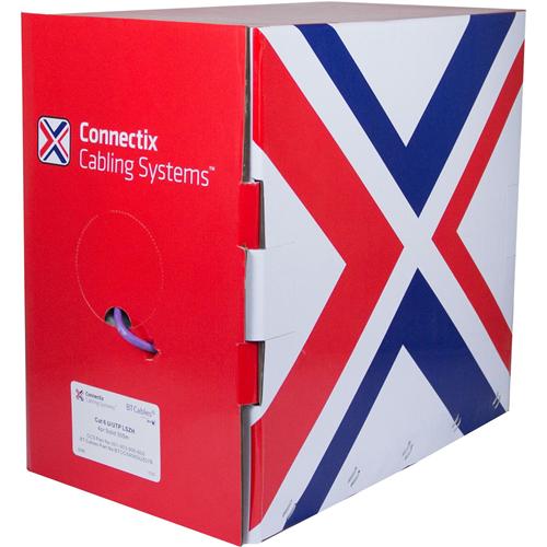 Connectix Kategori 6 Netværks Kabel til Netværksenhed - 305 m - Bare Wire - Bare Wire