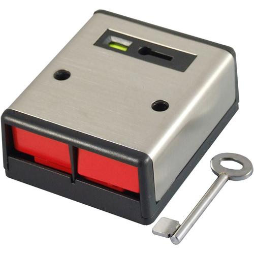 CQR PADP2 Push knap - Rustfri Stål - Acrylonitrilbutadienstyren (ABS)