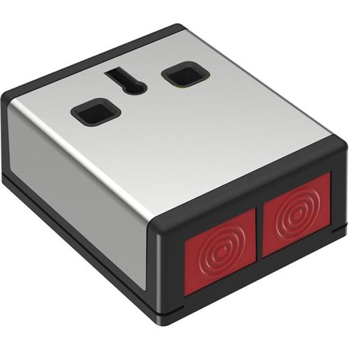 CQR DP3 Push knap - Rustfri Stål, Black - Acrylonitrilbutadienstyren (ABS), Rustfri Stål
