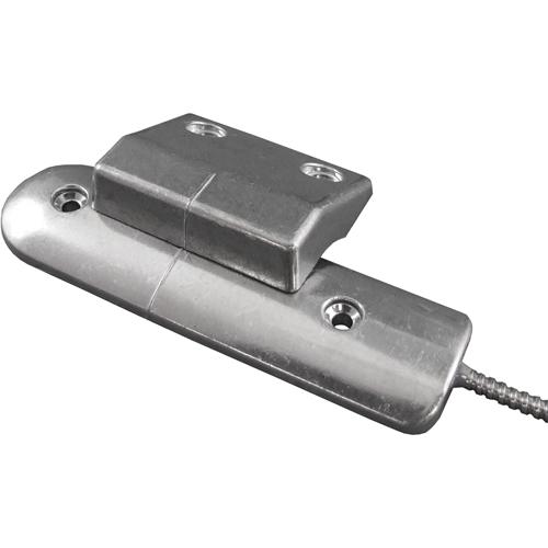 CQR RS002 Kabel Magnetkontakt - SPST (N.O.) - 60 mm Gap - For Rullegardin - Aluminium