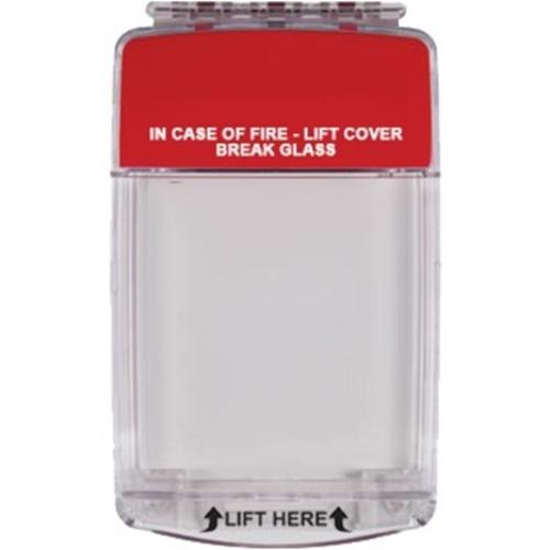 STI Euro Stopper STI-15020ML Sikkerhedsdække til Opkaldspunkt - Indoor - Polycarbonate - Red