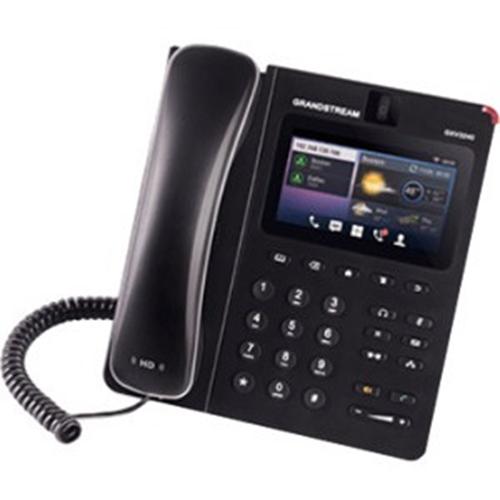 2N GXV3240 IP Telefon - Kabel - Væg Monterbar - 6 x Linje i alt - VoIP - Megafon - 2 x Netværk (RJ-45) - USB - PoE Ports - Farve - SIP, TCP, UDP, RTP, RTCP, ARP, ICMP, DHCP, PPPoE, NTP, STUN, ... Protocol(s)