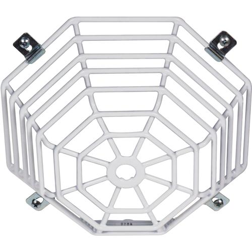 STI Steel Web Stopper STI-9601 Sikkerhedsdække til Røgalarm - Beskadigelsesbestandig, Rustfri, Sabotagesikret - Rustfri Stål - Hvid
