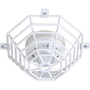 STI Steel Web Stopper STI-9604 Sikkerhedsdække til Røgalarm - Beskadigelsesbestandig, Rustfri, Sabotagesikret - Rustfri Stål