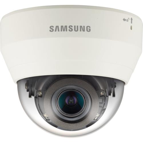 Hanwha Techwin WiseNet QND-7080R 4 Megapixel Netværkskamera - Monokrom, Farve - 20 m Night Vision - Motion JPEG, H.264, H.265 - 2592 x 1520 - 2,80 mm - 12 mm - 4,3x Optical - CMOS - Kabel - Kuppel