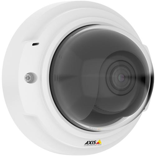 AXIS P3374-V Netværkskamera - Farve - H.264, Motion JPEG - 1280 x 720 - 3 mm - 10 mm - 3,3x Optical - Kabel - Kuppel