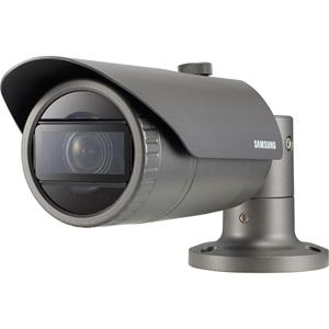 Hanwha Techwin WiseNet QNO-7080R 4 Megapixel Netværkskamera - Monokrom, Farve - 30 m Night Vision - Motion JPEG, H.264, H.265 - 2592 x 1520 - 2,80 mm - 12 mm - 4,3x Optical - CMOS - Kabel - Kugle