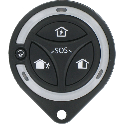 Honeywell 4 Buttons Keyfob sender - RF - 868,30 MHz - Håndholdt