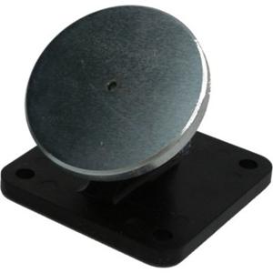Eaton Væg dørstopper - Plastik, Stål - 48 mm x 65 mm x 65 mm - Black