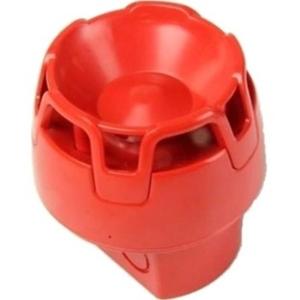 KAC CWSO-RR-W1 Security Alarm - Wired - 29 V DC - 107 dB(A) - Hørbar - Væg Monterbar, Kan monteres på loftet - Red
