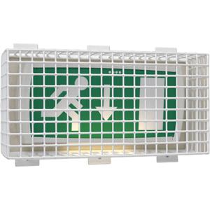 STI Sikkerhedsdække - Vandalsikret, Beskadigelsesbestandig - Stål, Plastik - Hvid