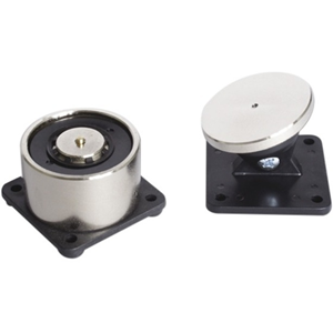 Eaton Elektromagnetisk dørholder - Push knap, Kompakt - Plastik, Stål - 65 mm x 65 mm x 40,5 mm - Black