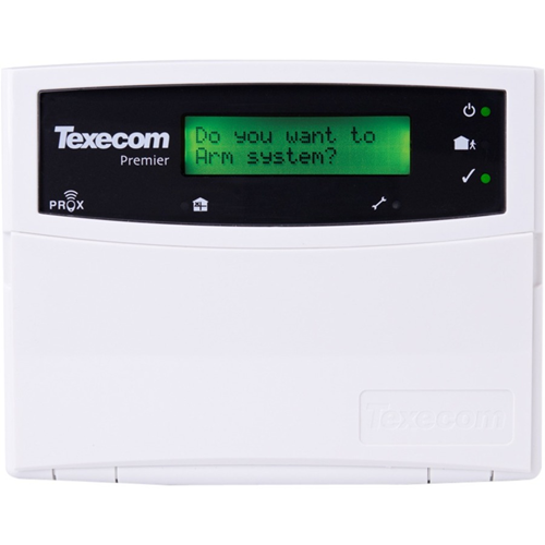 Texecom Premier LCDP - Til Kontrolpanel