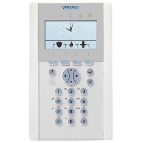 Vanderbilt SPCK620.100 Sikkerhedstastatur - Til Kontrolpanel - Plastik, Polycarbonate