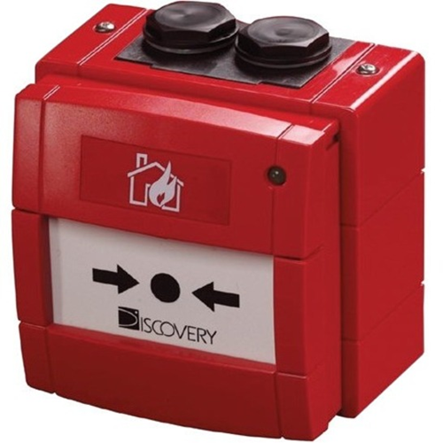 Apollo Discovery Til Outdoor, Alarm - Red - Polycarbonate