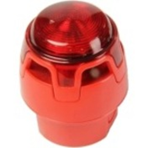 Honeywell ENscape Horn/blinklys - 29 V DC - 107 dB - Visuelt, Hørbar - Overflademontering - Red, Red, Red, Red