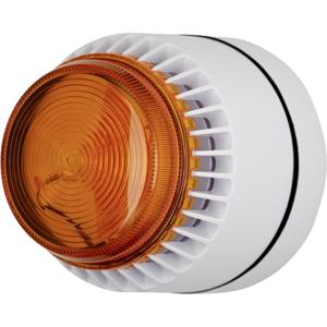 Eaton Flashni Horn/blinklys - 12 V - Hørbar, Visuelt - Orange, Hvid