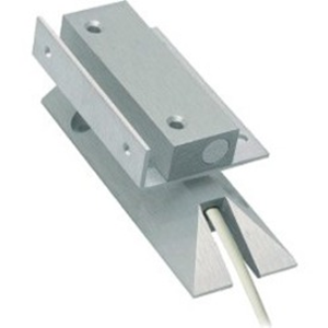 Alarmtech MC 240-S56 Kabel Magnetkontakt - N.C. - 42 mm Gap - For Door, Window - Overflademontering - Aluminum