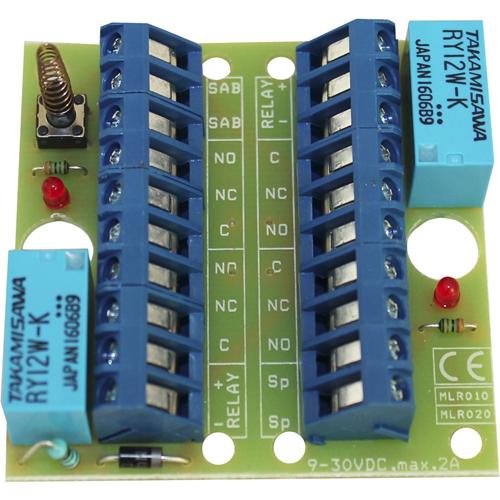 Alarmtech RC 020 Relæudgangskort - Til Kontrolpanel