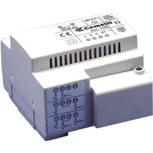 Comelit Step Down Transformer - 60 VA - 230 V AC Input - 12 V AC, 24 V AC Output