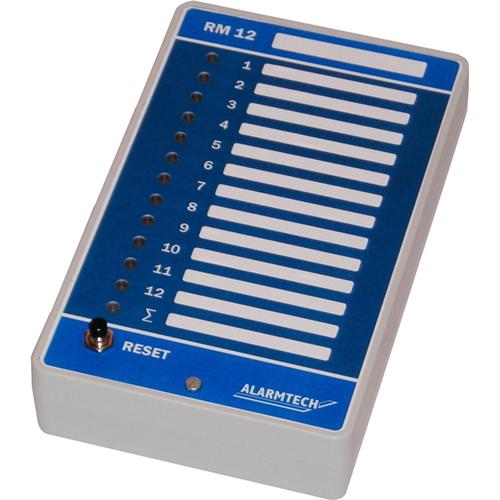 Alarmtech RM 12 Fjernindikatorlampe - Til Kontrolpanel - Plastik, Metal