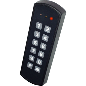 Key7 SA850-A20 Kortlæser/tastatur adgangsenhed - Door - 100 User(s) - Seriel - 24 V DC - selvstændig