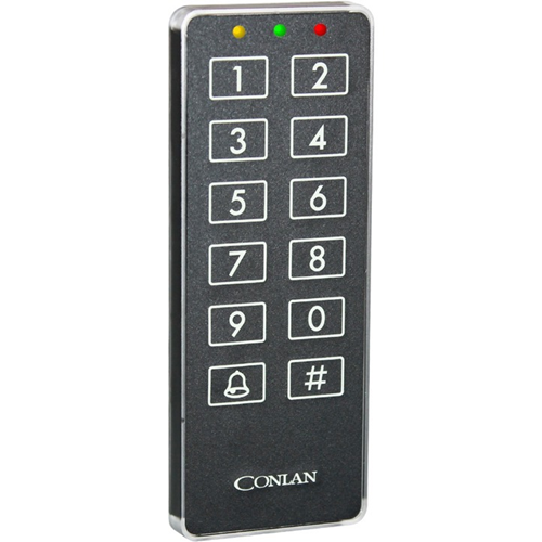 Conlan CT2000 - Black - Door - 190 User(s) - Seriel - 24 V DC