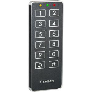 Conlan CT2000 - Black - Door - 190 User(s) - Seriel - 24 V DC