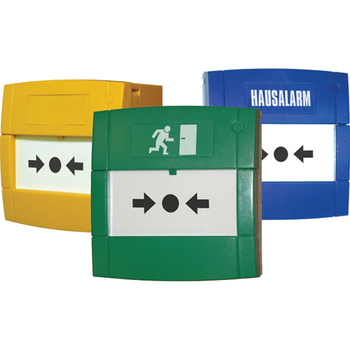 KAC MCP1A-Y470SF-K013-11 Til Alarm, Indoor - Gul - Glas, Polycarbonate, Acrylonitrilbutadienstyren (ABS)