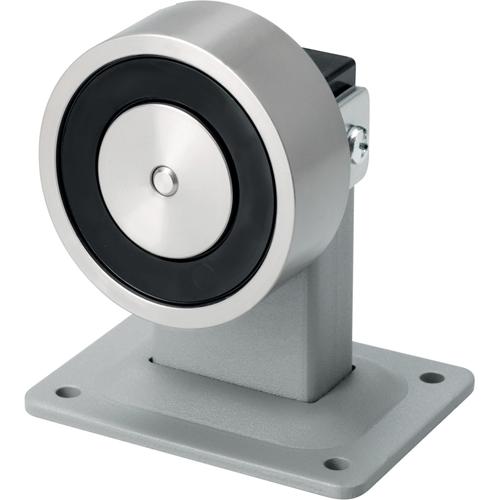 ASSA ABLOY 83012BWKU Elektromagnetisk dørholder - 98 mm Door Clearance - Push knap - Stål