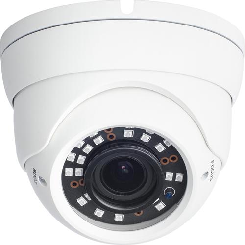 W Box WBXID28124MW 4 Megapixel Netværkskamera - Monokrom, Farve - 30 m Night Vision - Motion JPEG, H.264, H.265 - 2592 x 1520 - 2,80 mm - 12 mm - 4,3x Optical - CMOS - Kabel