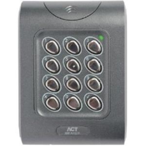 Vanderbilt ACTpro MF1050e Kortlæser/tastatur adgangsenhed - Door - Nærhed - Wiegand - 24 V DC - Overflademontering, Glat montering, Boksmontering