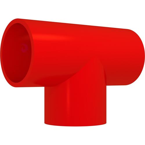 Bisson - Red - 25 mm Ø x 66 mm - Acrylonitrilbutadienstyren (ABS)