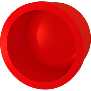 Bisson - Red - 25 mm Ø x 31 mm - Endemuffe