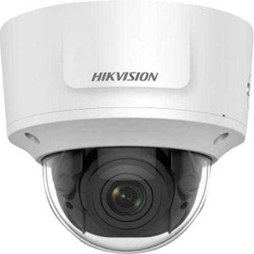 Hikvision DS-2CD2755FWD-IZS 5 Megapixel Netværkskamera - Farve - 30 m Night Vision - H.264, H.265, MJPEG, H.265+, H.264+ - 2944 x 1656 - 2,80 mm - 12 mm - 4,2x Optical - CMOS - Kabel - Kuppel - Pendelmontering, Vægmontering, Stangmontering, Hjørnemontering, Loftsmontering