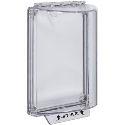 STI Universal Stopper Sikkerhedsdække - Indoor, Outdoor - Polycarbonate - Klar
