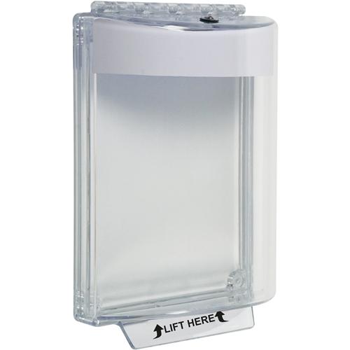 STI Universal Stopper STI-13010NW - Til tastatur, Intercom - Vandalsikret, Beskadigelsesbestandig, Vandfast, Resistent over for støv - Polycarbonate - Hvid