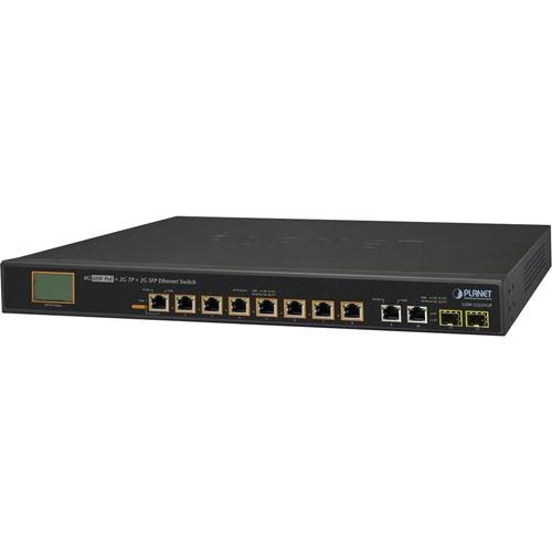 Elmdene ELM-UPOE-SWITCH-8 8 Ports Ethernet Switch - 2 Layer Supported - Modulær - Snoet Par - 1U High - Hylde Monterbart