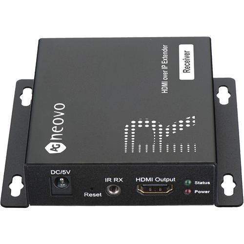 AG Neovo HIP-RA Video Extender modtager - Wired - 1 Output Device - 120 m Range - 1 x Netværk (RJ-45) - 1 x HDMI-udgang - 1920 x 1080 Video Resolution - Full HD - Snoet Par - Kategori 6