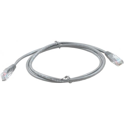 Connectix 50 cm Kategori 5e Netværks Kabel til Netværksenhed - 1 Pakke - First End: 1 x RJ-45 Han Netværk - Second End: 1 x RJ-45 Han Netværk - Patch Cable - Grå