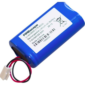 Hochiki Batteri - Lithium Polymer (Li-Polymer) - Til Lighting - Genopladelige batterier - 7,40 V - 2950 mAh