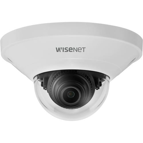 Wisenet QND-8011 5 Megapixel Netværkskamera - Kuppel - MJPEG, H.264, H.265 - 2592 x 1944 - CMOS - Vægmontering